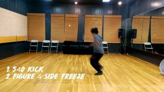 freestyle dance demo 3 hitter quitter