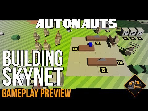 Building SKYNET in Autonauts | Gameplay Preview