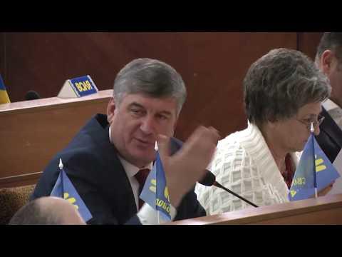 Сесія Івано-Франківської обласної ради. Частина 2. 07-12-2018