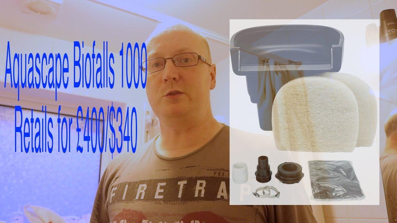 Aquascape Biofalls 1000 Demonstration Youtube