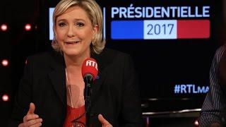 La chronique de Laurent Gerra devant Marine Le Pen