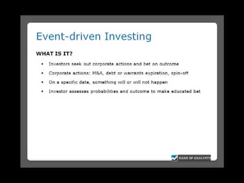 Event-driven Investing: KPPC (part 1 of 4)
