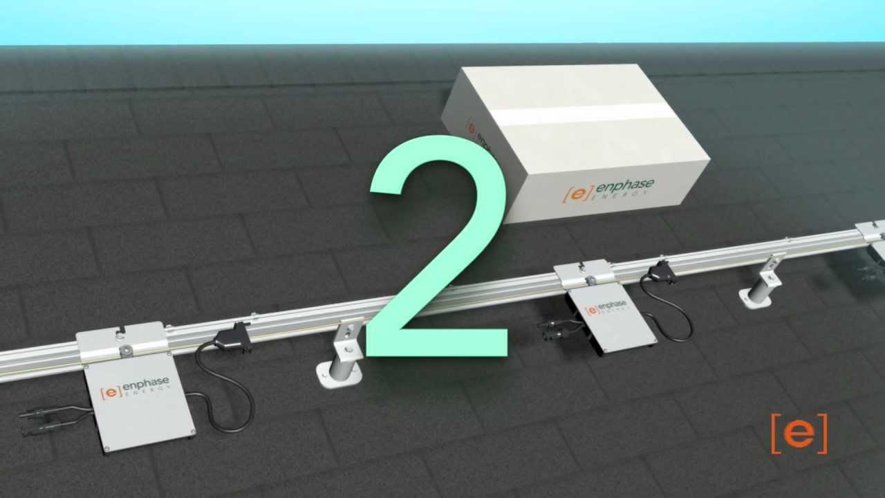 Enphase M215 Installation Animation - YouTube