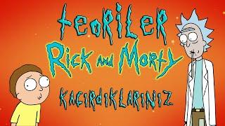 Rick and Morty 3.sezon Kaçırdıklarınız ve Teoriler