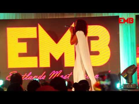 Rebecca Soki perfoms Baraka Zangu Acoustic at the K.I.C.C EMB Launch