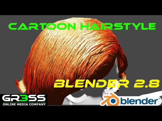 Blender 2.8 Tutorial | Cartoon Style Material Hair | Deutsch