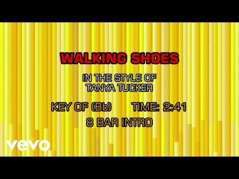 Tanya Tucker - Walking Shoes (Karaoke)