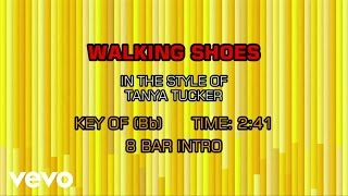 Tanya Tucker - Walking Shoes (Karaoke)