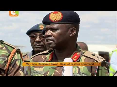 Kenya troops arrive in Nairobi from South Sudan mission