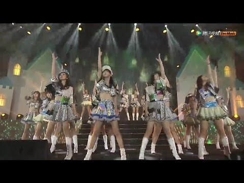 SNH48第二回リクアワ M04 Green Flash SNH48 20151226 HD, 720p