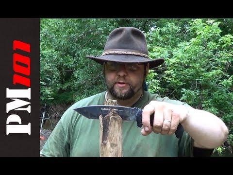 Schrade SCHF17: Ugly Duckling Survival/Bushcraft Knife - w/ William Myers