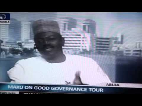 Interview with Minister of Information, Mr. Labaran Maku on Channels Television..
