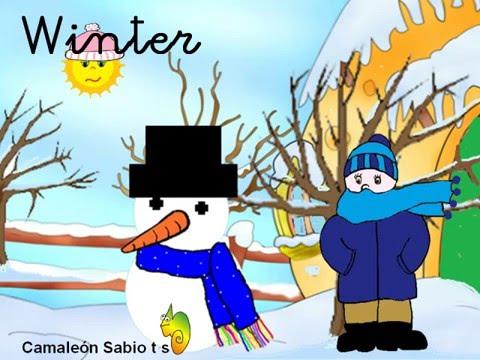 Las estaciones del año en inglés (Seasons) (infantil) - YouTube