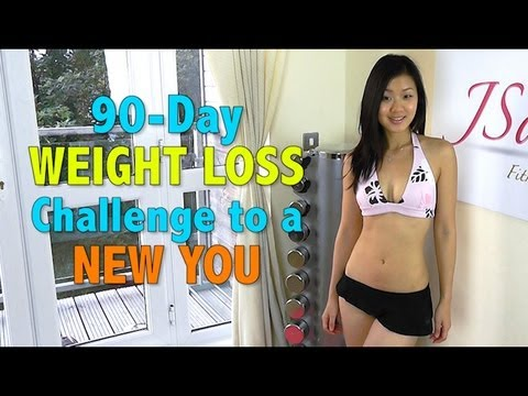 90-Day WEIGHT LOSS Challenge To a New You - YouTube