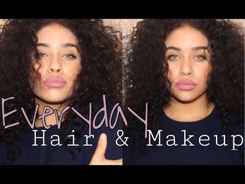 Everyday Look + Hair & Makeup Routine