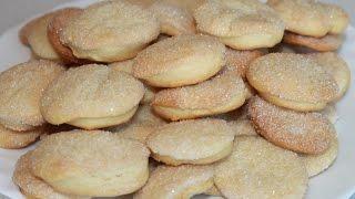Домашнее печенье-очень вкусное. Простой рецепт.