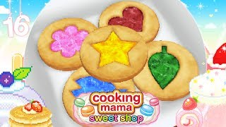 ♡ Cooking Mama Sweet Shop (Gameplay): 16 - Stained Glass Cookies ♡