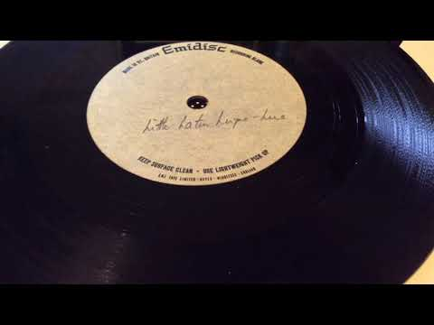 "Unknown unreleased? emidisc 1960s beat acetate (B side) ""little latin lupe lu"" any info?"