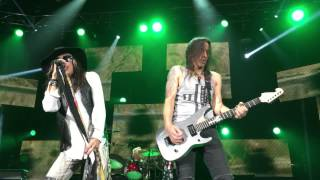 STEVEN TYLER and NUNO BETTENCOURT - KINGS OF CHAOS - BACK IN THE SADDLE