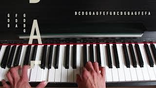 Kal Ho Naa Ho | Piano Tutorial