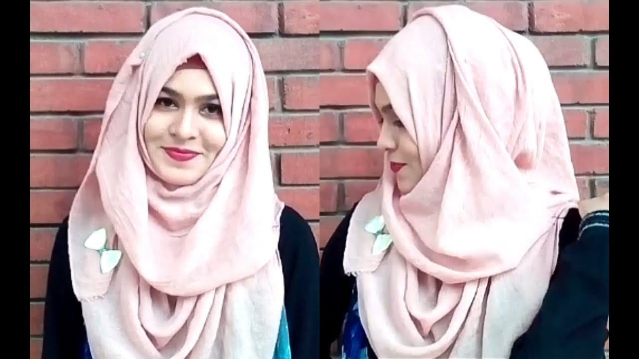 d5e9db9a6db NO LAYER TOO MUCH EASY Beauty Hijab Style For School   Collage   University  Class