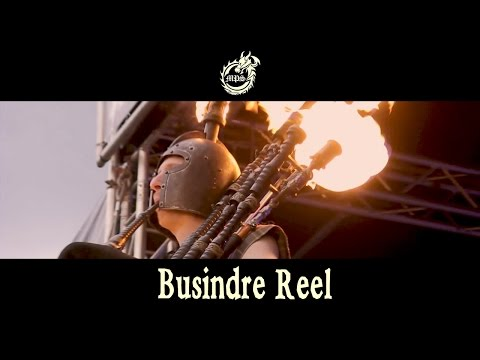 Burning Bagpipes! Busindre Reel from Hevia - RAPALJE Celtic Folk Music #celticmusic