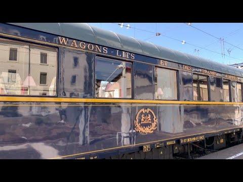 شاهد: أسطورة القطارات -قطار الشرق السريع- يحط رحاله في محطة ليون الفرنسية …  - نشر قبل 2 ساعة