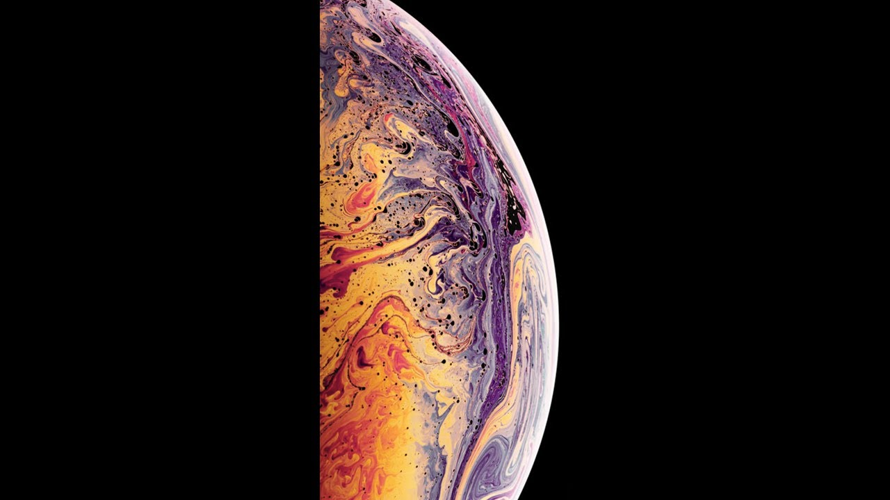 Black Iphone Xs Live Wallpapers App Youtube