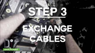 EZGO RXV Battery Cable Replacement How-To