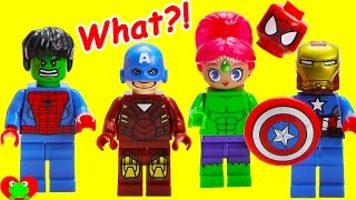 SUPERHERO Wrong Heads And Surprises Wrong Heads Ice Cream Peppa Pig Finger Family Nursery Rhymes For Kids Funny Videos Thank You For Watching The