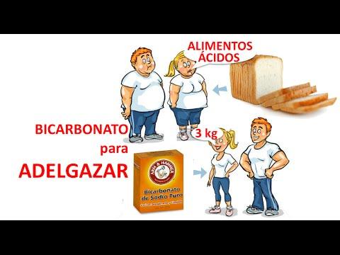 Como bajar de peso en 3 dias con bicarbonato
