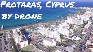 Protaras, Cyprus & Vrysoudia beach by drone | DJI Phantom 3 Standard