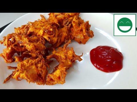 Kanda Bhaji Recipe in Hindi, Onion Pakoda, स्वादिष्ट और कुरकुरे प्याज के पकौड़े बनाने की रेसिपी