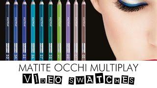 Nuovi colori matite #occhi Multiplay di AliceLikeAudrey per PUPA