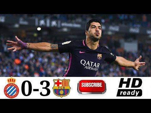 Espanyol   Fc Barcelona All Goal Highlight La Liga Spanyol