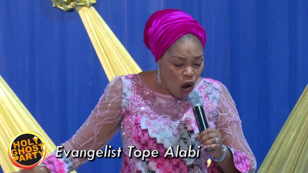 Evangelist Tope Alabi: February 2017 Holy Ghost Party
