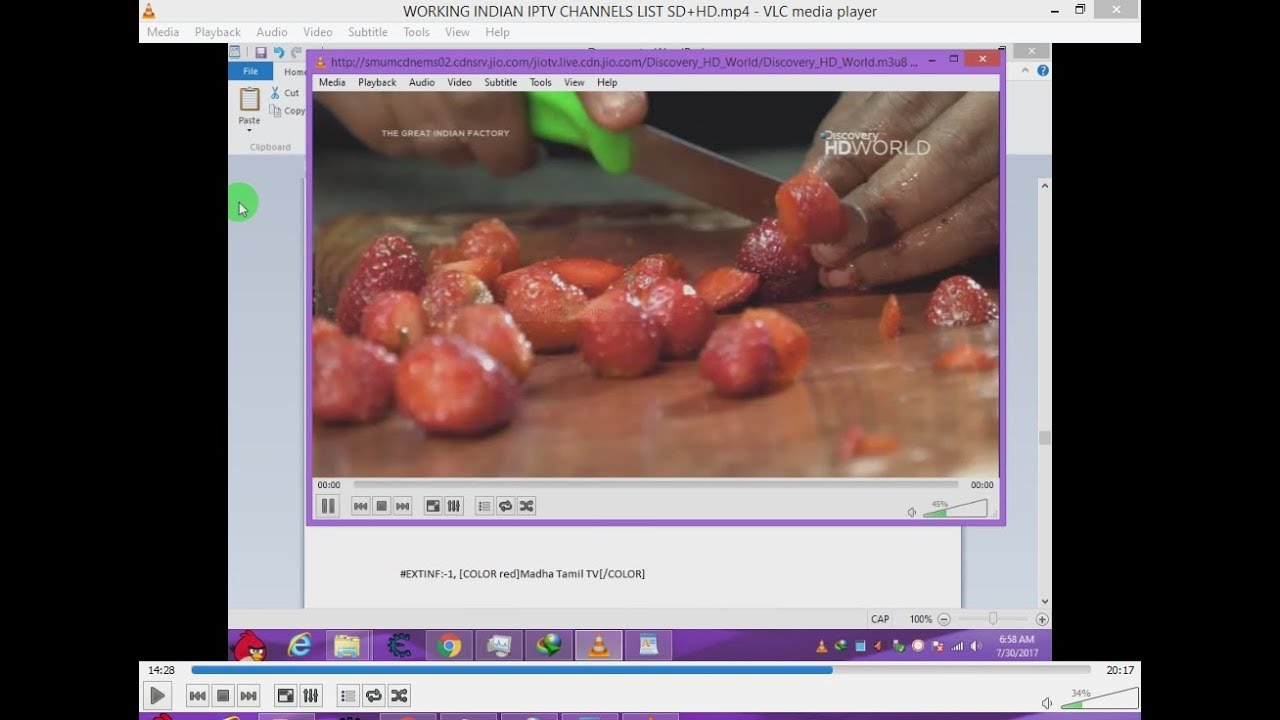 WORKING INDIAN IPTV CHANNELS LIST SD+HD WITH LINKS FOR VLC
