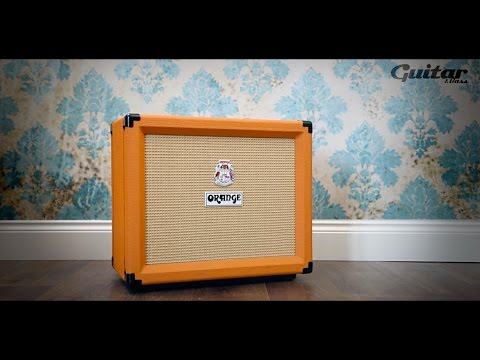 Orange Rocker 15 guitar amp demo