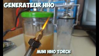 Générateur d'hydrogène HHO fait maison