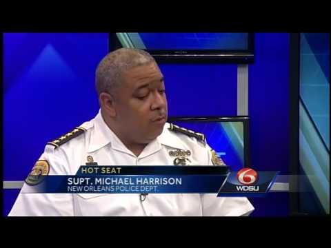 Hot Seat: NOPD Michael Harrison Part 2