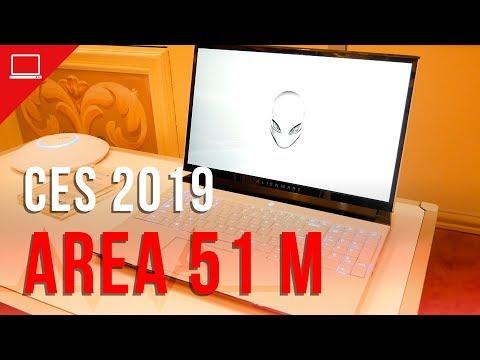 Hands-on com o Alienware Area-51m, um belíssimo notebook com upgrade de desktop
