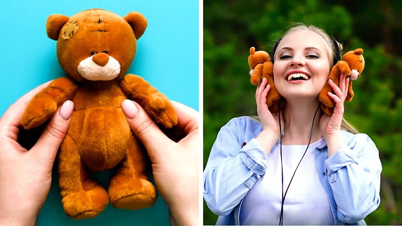 28 IDEAS HOW TO GIVE NEW LIFE TO YOUR OLD TOYS