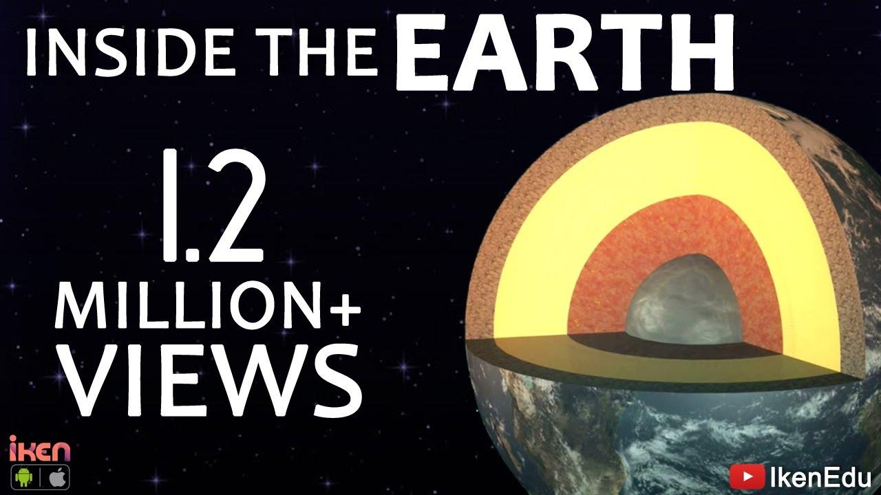 Inside The Layers Of The Earth | iKen | iKen Edu | iKen App