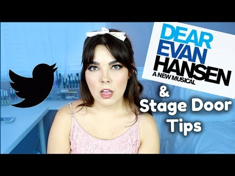 To the Person Who Called Ben Platt 'Garbage' + Stage Door Tips