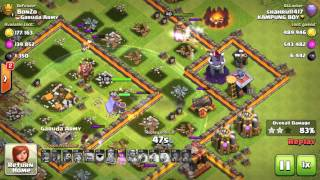 Clash of clans | shahrul1417 kampung boy feat ella