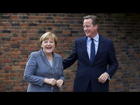يورو نيوز: آنجيلا ميركيل ضيفة عند ديفيد كاميرون في عيد ميلاده