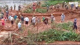 Sạt lở đất chôn vùi 3 người trong một gia đình ở Đắk Nông