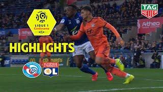 RC Strasbourg Alsace - Olympique Lyonnais ( 2-2 ) - Highlights - (RCSA - OL) / 2018-19
