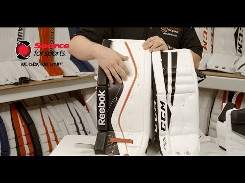 How To: Choosing The Right Hockey Goalie Pads | Source For Sports