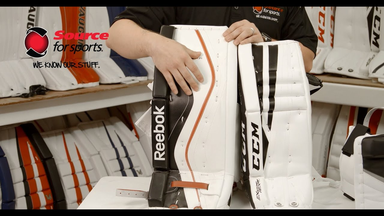 27267d8862c How To  Choosing the Right Hockey Goalie Pads